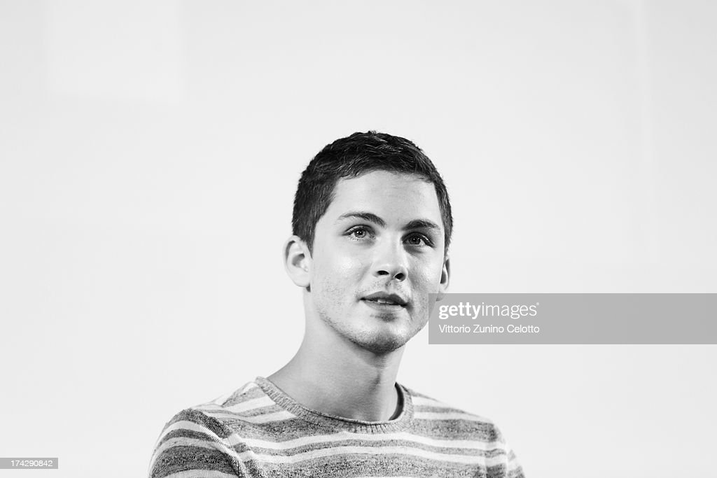 <a gi-track='captionPersonalityLinkClicked' href=/galleries/search?phrase=Logan+Lerman&family=editorial&specificpeople=635439 ng-click='$event.stopPropagation()'>Logan Lerman</a> attends 2013 Giffoni Film Festival press conference on July 23, 2013 in Giffoni Valle Piana, Italy.