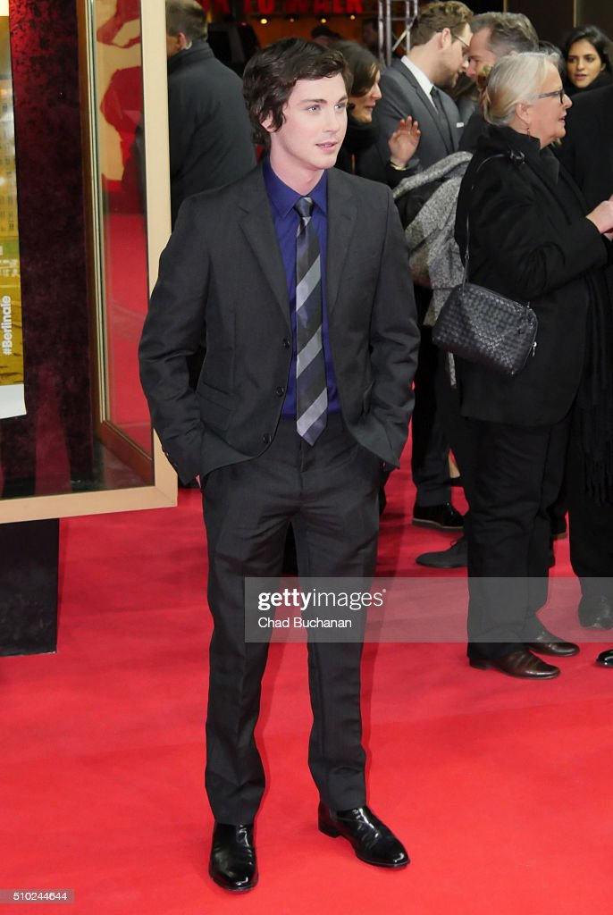 Logan Lerman attends the 'Indignation' premiere during the 66th Berlinale International Film Festival Berlin at Zoo Palast on February 14, 2016 in Berlin, Germany.