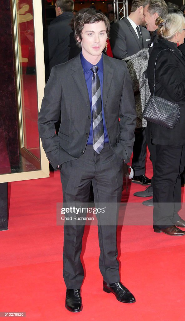 Logan Lerman attends the 'Indignation' premiere during the 66th Berlinale International Film Festival Berlin at Zoo Palast on February 14 2016 in...