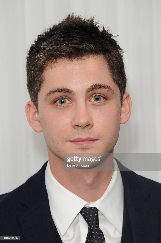 Logan Lerman attends the Jameson Empire Film Awards 2014 at The Grosvenor House Hotel on March 30, 2014 in London, England.