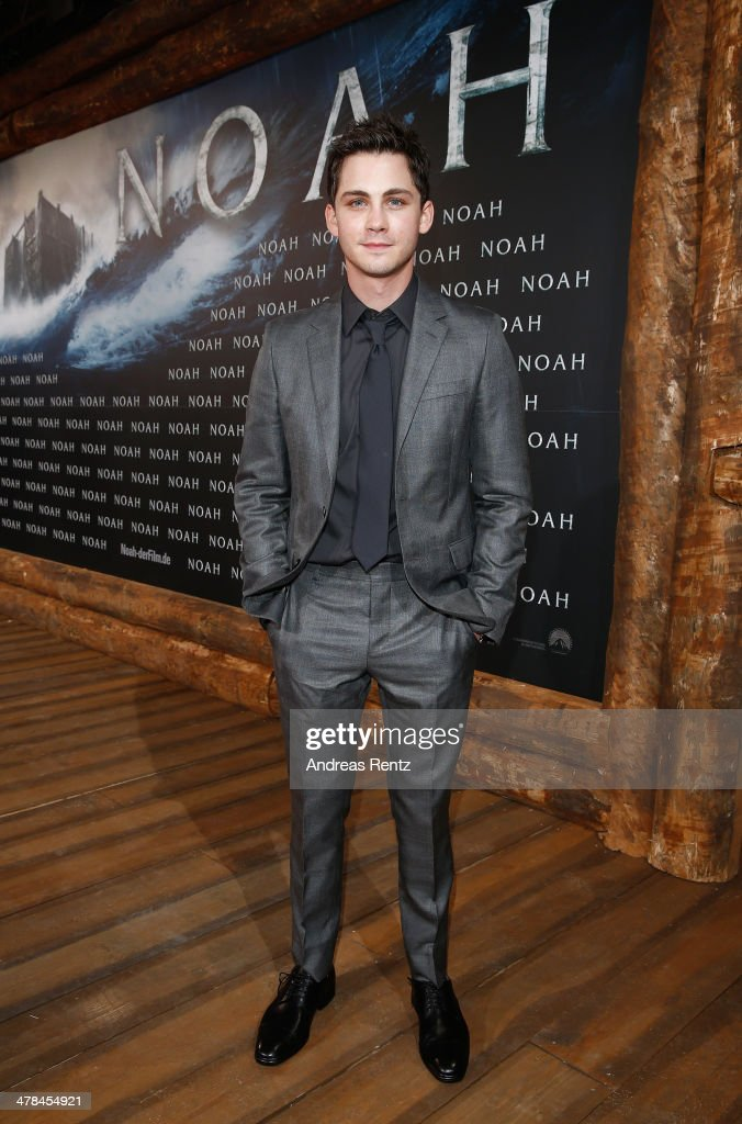 <a gi-track='captionPersonalityLinkClicked' href=/galleries/search?phrase=Logan+Lerman&family=editorial&specificpeople=635439 ng-click='$event.stopPropagation()'>Logan Lerman</a> attends the premiere of Paramount Pictures' 'NOAH' at Zoo Palast on March 13, 2014 in Berlin, Germany.
