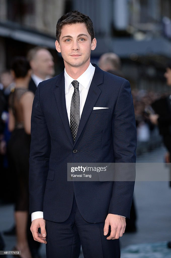 Logan Lerman attends the UK premiere of 'Noah' held at the Odeon Leicester Square on March 31, 2014 in London, England.