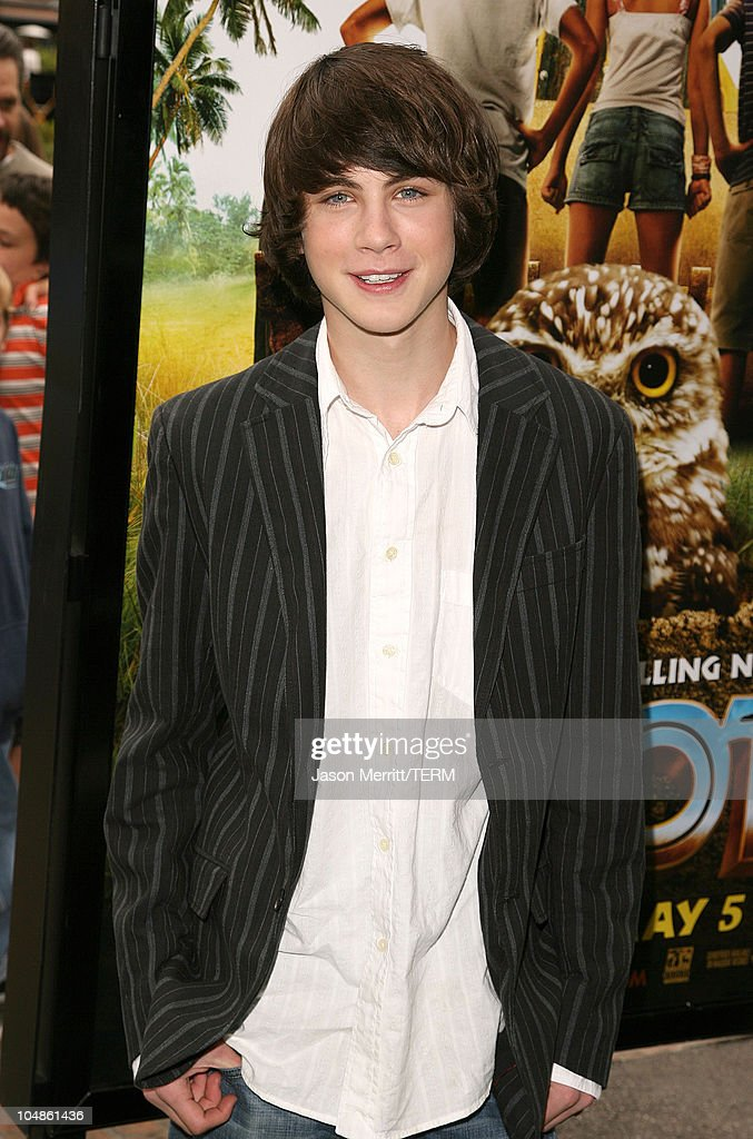 Logan Lerman during 'Hoot' Los Angeles Premiere Arrivals at The Grove in West Hollywood California United States