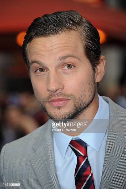 Logan MarshallGreen attends the world premiere of Prometheus at Empire Leicester Square on May 31 2012 in London England