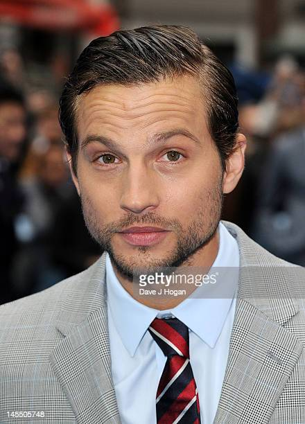 Logan MarshallGreen attends the World Premiere of 'Prometheus' at Empire Leicester Square on May 31 2012 in London England