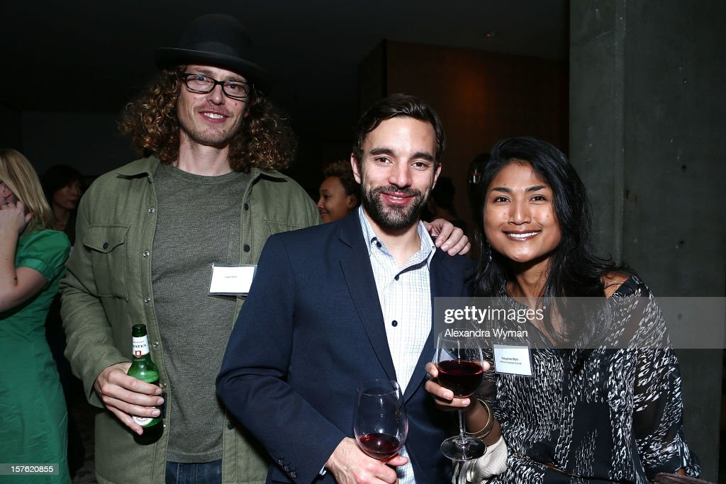 Logan Miller, Chris Horton and Kayleanee Mam at The Sundance Film Festival Filmmaker Orientation reception held at The Palihouse Holloway on December 4, 2012 in West Hollywood, California.