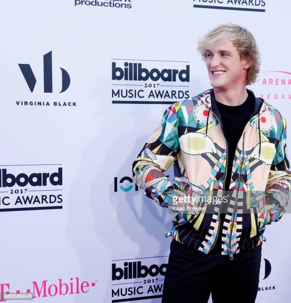 Logan Paul arrives at the 2017 Billboard Music Awards presented by Virginia Black at TMobile Arena on May 21 2017 in Las Vegas Nevada