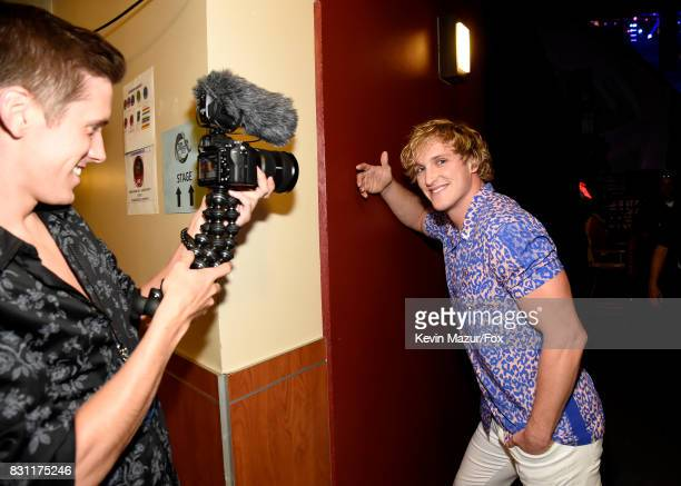 Logan Paul attends Teen Choice Awards 2017 at Galen Center on August 13 2017 in Los Angeles California
