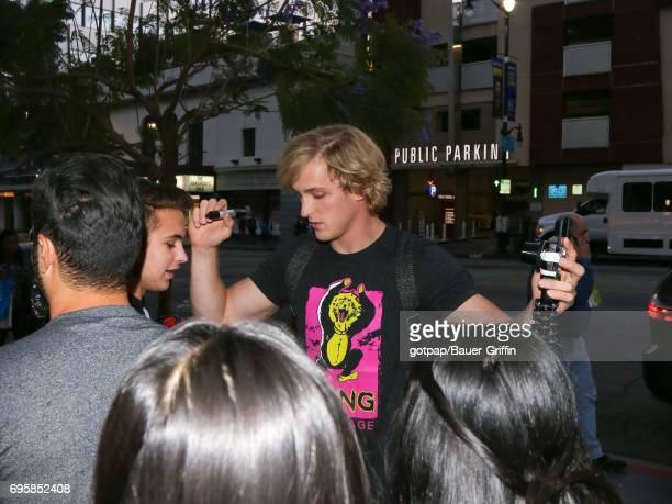 Logan Paul is seen on June 13 2017 in Los Angeles California