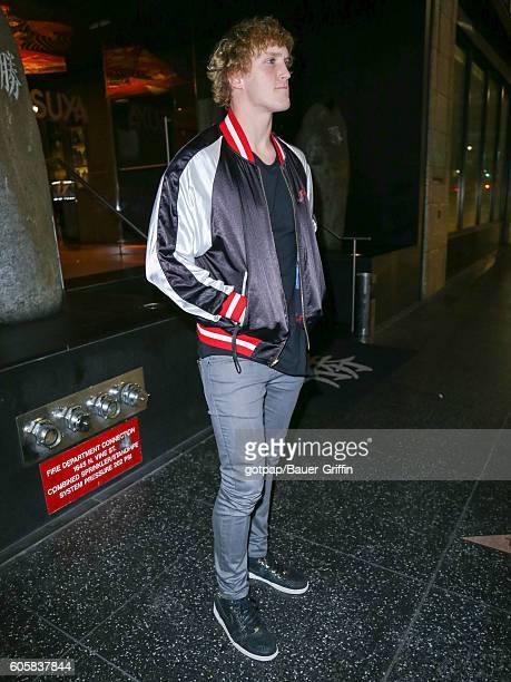 Logan Paul is seen on September 14 2016 in Los Angeles California