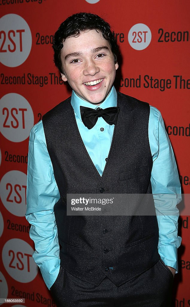 Logan Rowland attends the after party for the opening night production of 'Little Miss Sunshine' at Yotel on November 14, 2013 in New York City.