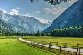 The Logar Valley is one of the most beautiful Alpine glacial valleys in Europe. It extends into the Kamnik-Savinja Alps from the north. A part of the Solčavsko region, tradition and nature have found