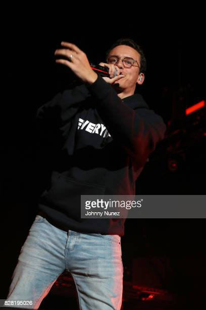 Logic performs at Barclays Center on August 8 2017 in New York City