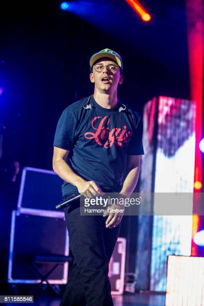 Logic performs at The Greek Theatre on July 9 2017 in Los Angeles California