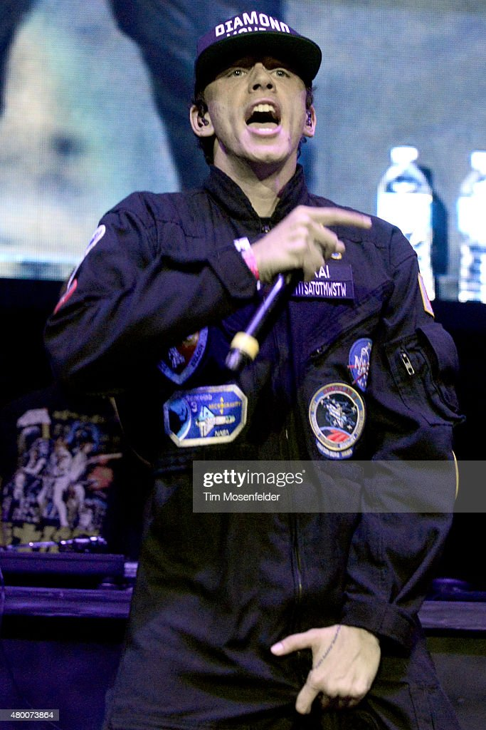 Logic performs during Power 106's Powerhouse 2015 at Honda Center on May 16, 2015 in Anaheim, California.