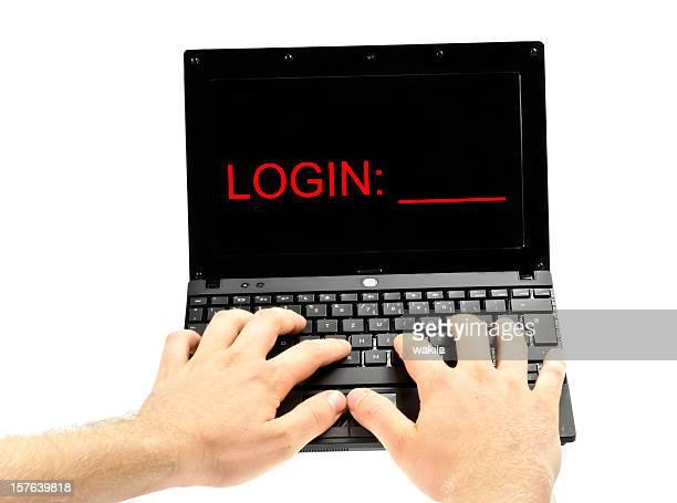 login hands on notebook