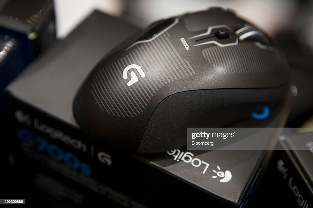 A Logitech International SA G Series mouse is displayed at Pepcom DigitalFocus in New York, U.S., on Thursday, April 11, 2013. DigitalFocus is Pepcom's annual Spring showcase that previews the tablets, laptops, smartphones, gadgets, videogames, toys, and consumer electronics that will be hot items for the gift-giving season. Photographer: Scott Eells/Bloomberg via Getty Images