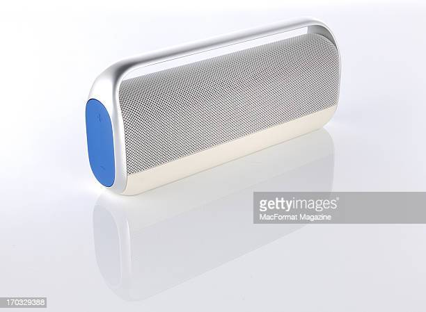 A Logitech UE Boombox Bluetooth speaker photographed during a studio shoot for MacFormat Magazine November 1 2012