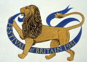Logo design for the Festival of Britian 1951