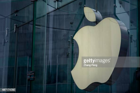 JIEFANGBEI CHONGQING CHINA Logo of an Apple store in Chongqing Apple has experienced strong growth for the business in China through July and August...