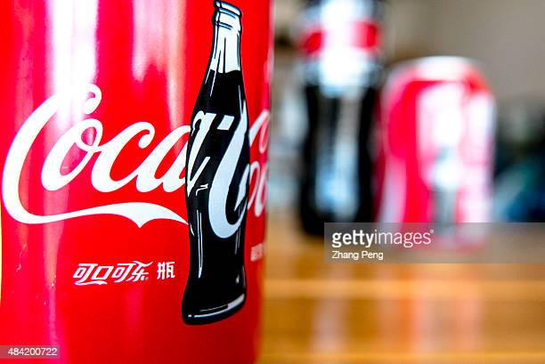 Logo of CocaCola on a bottle The strong dollar hit CocaColas overseas operations particularly in China