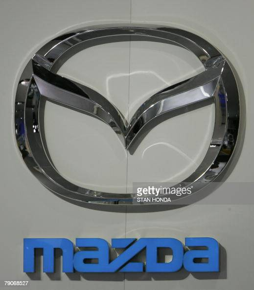 Logo Of Mazda A Division Of The Ford Mo Pictures Getty Images