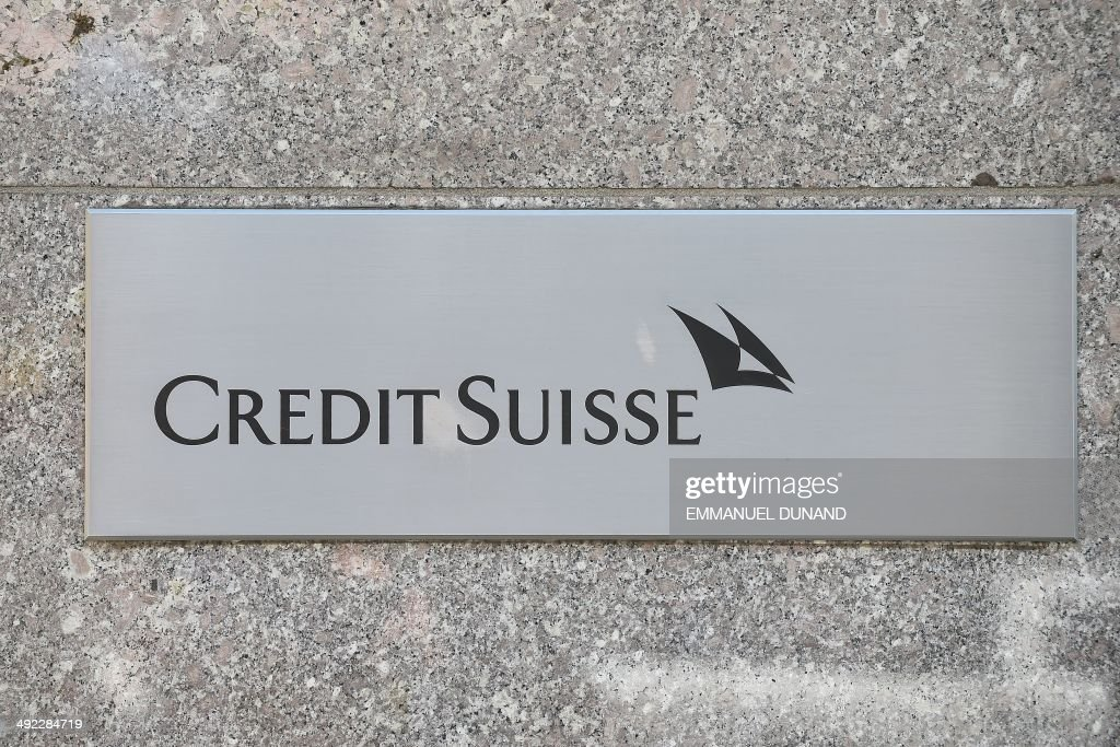A logo of Swiss bank Credit Suisse is set at the bank's headquarters in New York May 19 2014 Credit Suisse Switzerlands secondlargest bank is poised...
