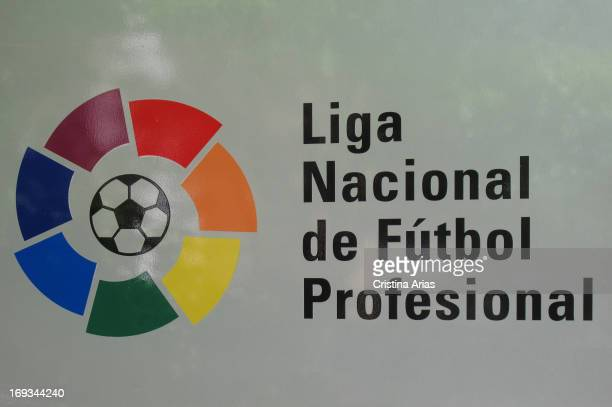 Logo of the National League of professional football in Spain the agency created by the football clubs to organize and direct the competition of...