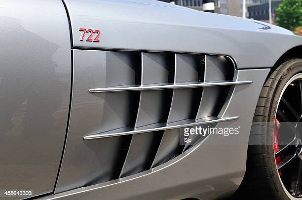 Logo on a McLaren Mercedes SLR 722