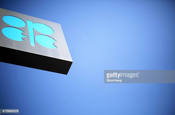 A OPEC logo sits on a sign outside the 167th Organization of Petroleum Exporting Countries conference in Vienna Austria on Friday June 5 2015 The...