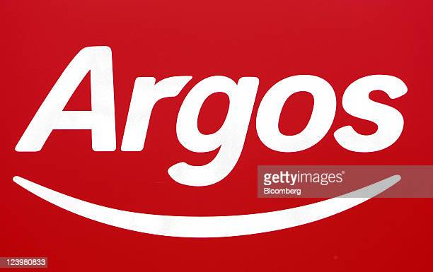A logo sits on display outside an Argos store operated by Home Retail Group Plc in Enfield UK on Wednesday Sept 7 2011 Home Retail Group Plc owner of...