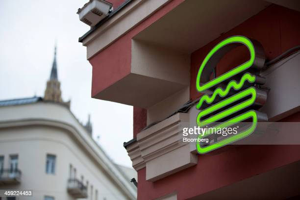 Shake Shack Logo shake shack logo stock photos and pictures | getty images