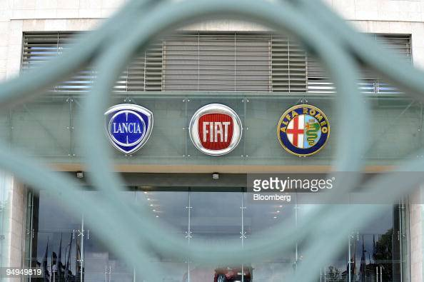 Fiat Chrysler Logo Stock Photos And Pictures Getty Images