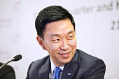 Loh Chin Hua chief executive officer of Keppel Corp reacts during a news briefing in Singapore on Thursday July 21 2016 Keppel the world's largest...