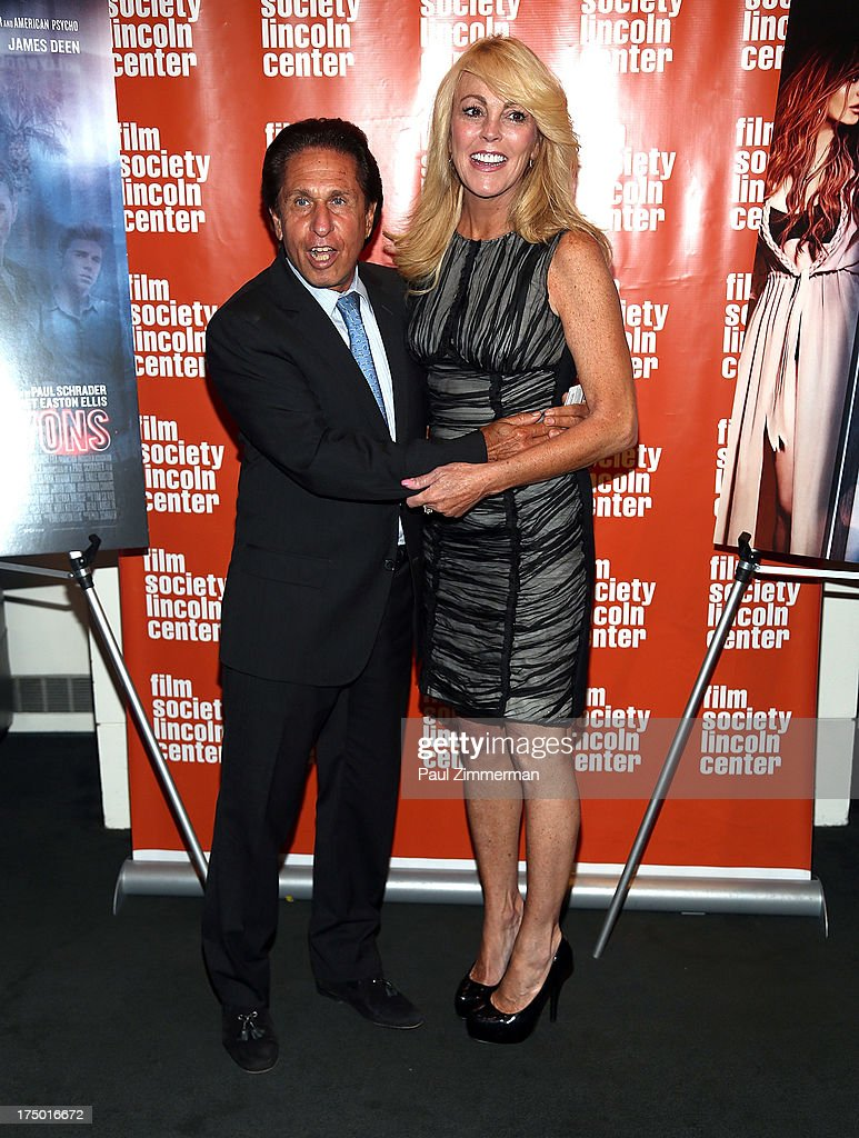 Lohan family attorney Mark Heller and Dina Lohan attend the 'The Canyon' premiere at The Film Society of Lincoln Center, Walter Reade Theatre on July 29, 2013 in New York City.