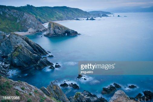 Loiba cliffs : Foto de stock