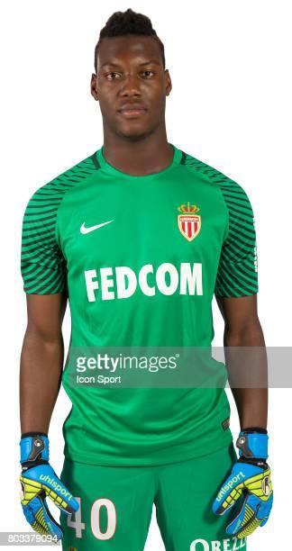 Loic Badiashile of As Monaco during official photo shooting of As Monaco Ligue 1 on September 15th 2016 in Monaco