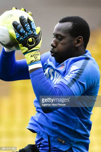 Loic Badiashile of Monaco during the friendly match between As Monaco and Nimes Olympique at Stade Louis II on August 31 2017 in Monaco Monaco