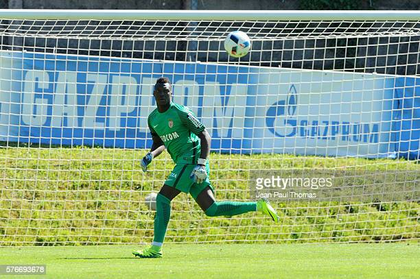 Loic BADIASHILE of Monaco during the pre season friendly match between As Monaco and Fc Basel on July 16 2016 in Montreux Switzerland