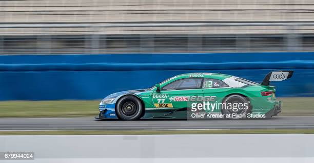 Loic Duval of MercedesAMG DTM Team HWA during the DTM free practice session 3 at the Hockenheimring on Day 2 of the DTM German Touring Car Masters...
