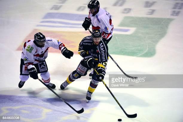 Loic LAMPERIER / Cedric CUSTOSSE Hockey sur glace Rouen / Briancon 1/2Finale Coupe de France Photo Dave Winter / Icon Sport