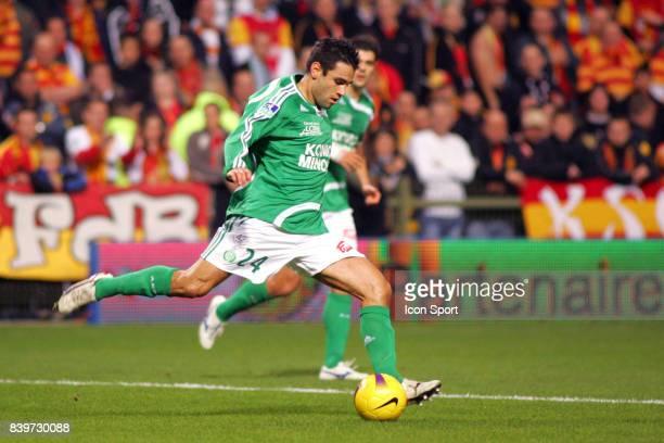 Loic PERRIN Lens / Saint Etienne 13 eme journee de Ligue 1