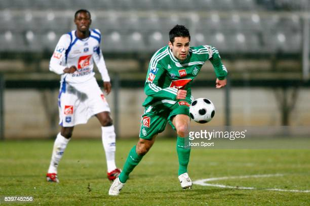 Loic PERRIN Auxerre / Saint Etienne 32eme de Finale de la Coupe de France