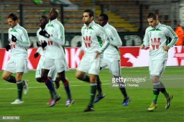 Loic PERRIN Saint Etienne / Auxerre 14 eme Journee de Ligue 1