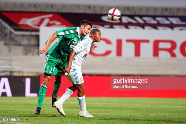Loic PERRIN / Andre AYEW Marseille / Saint Etienne 3eme journee de Ligue 1