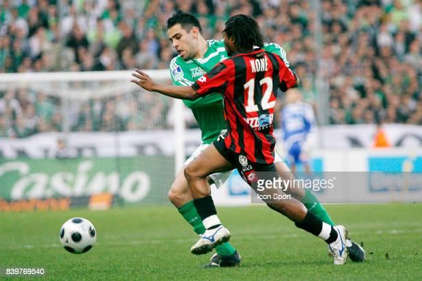 Loic PERRIN / Bakary KONE Saint Etienne / Nice 27e journee Ligue 1