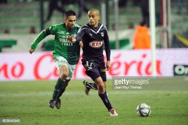 Loic PERRIN / Geraldo WENDEL Saint Etienne / Bordeaux 16e journee Ligue 1