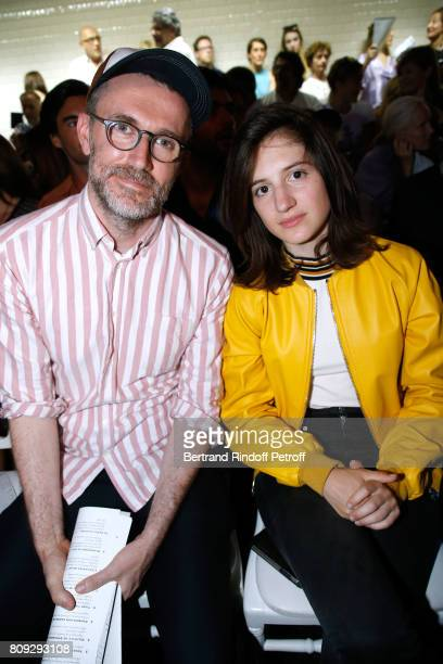 Loic Prignet and Aloise Sauvage attend the Jean Paul Gaultier Haute Couture Fall/Winter 20172018 show as part of Haute Couture Paris Fashion Week on...