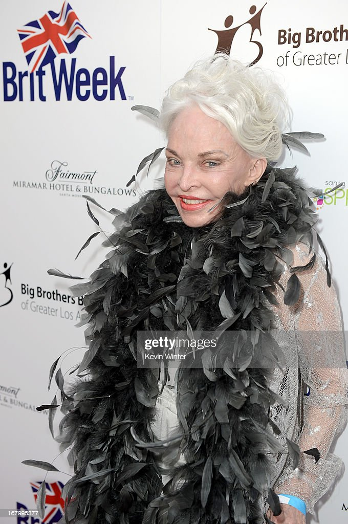 Lois Aldrin attends BritWeek Celebrates Downton Abbey at The Fairmont Miramar Hotel on May 3, 2013 in Santa Monica, California.