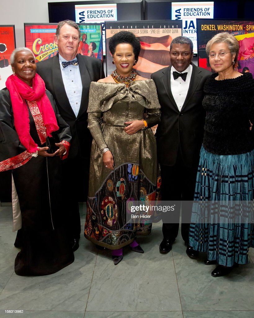 Lois Betts, Roland W. Betts, Sherry Bronfman, Eric Barkley and Marquita Poole Eckert attend The Museum of Modern Art's Jazz Interlude Gala at MOMA on December 12, 2012 in New York City.